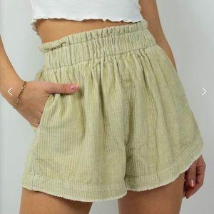 Grey Bandit shorts NWT
